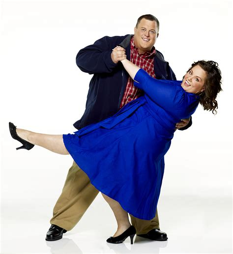 on mike and molly mike molly cbs king of the flat screen