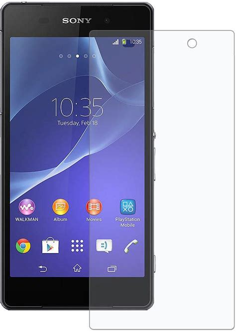 Hp Sony Xperia Z2 Ultra sony xperia z2 ultra clear hd screen protector glossy lcd scratch guard price from souq in