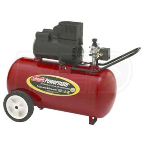 coleman powermate cp  gallon direct drive air compressor