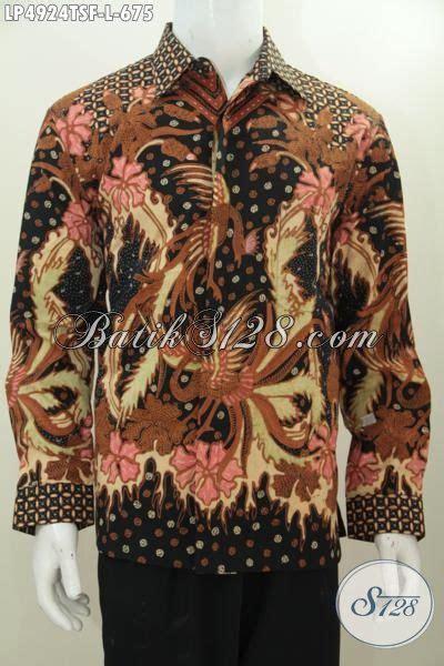 Kemeja Batik Premium Lengan Panjang kemeja premium lengan panjang motif mewah daleman furing baju batik tulis seragam