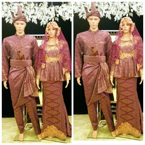Baju Bridesmaid Songket baju pengantin songket s fashion bridal wear on carousell