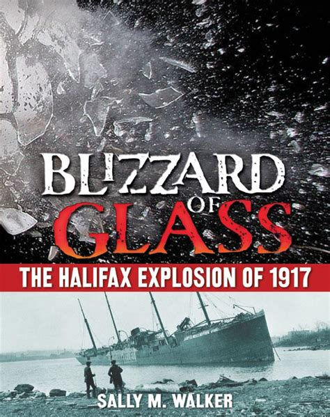 the great halifax explosion books junior library guild blizzard of glass the halifax