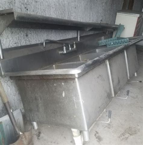 3 compartment sink for sale stainless steel 3 compartment sink for sale classifieds