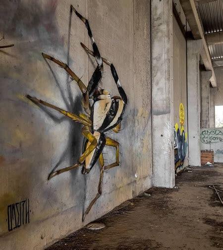 bugs street art