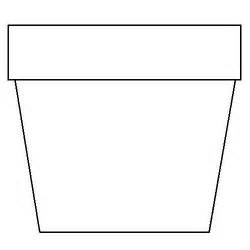 flower pot template flower template printable cliparts co