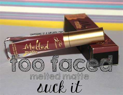 Melted Matte Original faced melted matte lipstick in it
