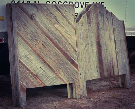 barn siding headboard reclaimed barn boards eclectic headboards by
