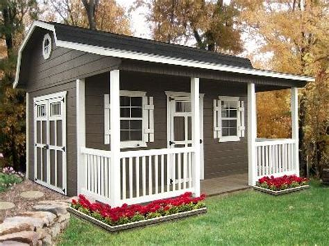 Sheds With Porches For Sale by Porch Barns For Sale In Ohio Amish Buildings Cabin
