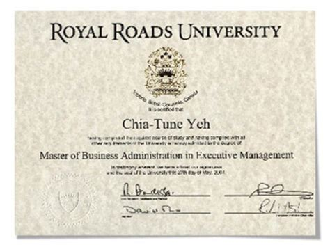 Royal Roads Mba by 加拿大皇家大學 Royal Roads 在台mba 15個月 02 2731 6060