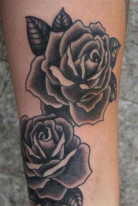 black rose tattoo men 14 best whit and black for images on