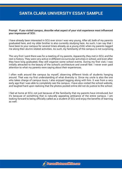 Santa Clara Mba Program by Scu Letter Of Recommendation Baskan Idai Co