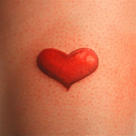 simple heart tattoo tattoos and designs