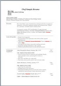 Sample Sous Chef Resume chef resume samples sous chef sample resume examples pdf and within
