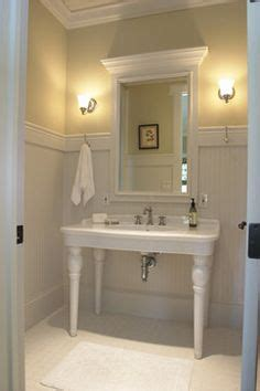 Wainscoting Bathroom Height by 1000 Images About Bathroom Ideas On Glass