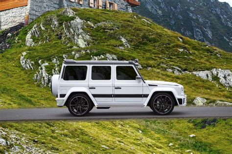 mansory mercedes g63 2016 mercedes benz g63 amg mansory gronos facelift