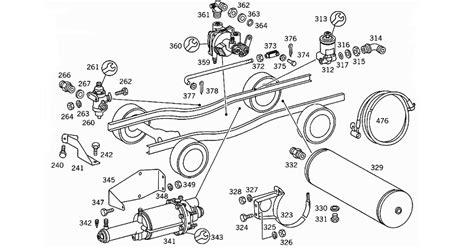 brake booster parts diagram brake booster diagram images