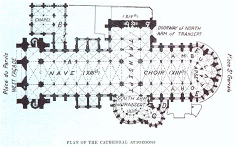 reims cathedral floor plan image gallery notre dame cathedral layout