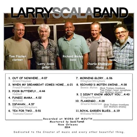 swing stories swing stories from new orleans larry scala band jazz lives