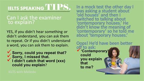 Tips For Speaking 2 by Speaking Tips Ieltswithmelinda