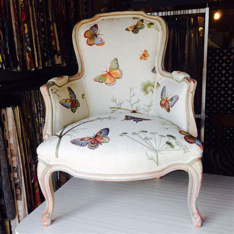 furniture upholstery fabric online butterfly louis chair upholstered in our customer s own