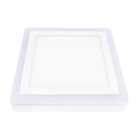 dual color led ceiling light surface panel downlight wall