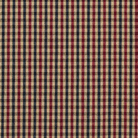 black and red upholstery fabric e811 black and red small scale check jacquard upholstery