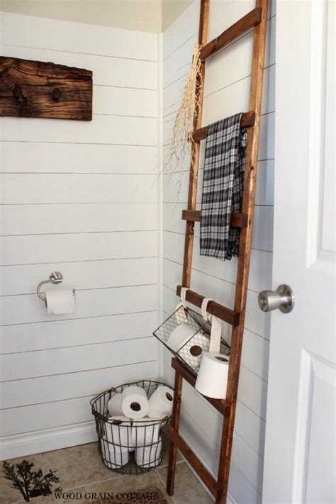 bathroom decorating with old ladder 17 best images about diy bathroom decor on pinterest