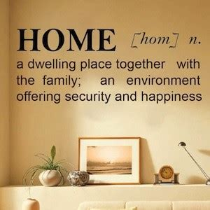 home definition