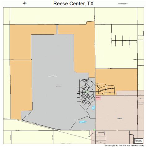center texas map reese center texas map 4861406