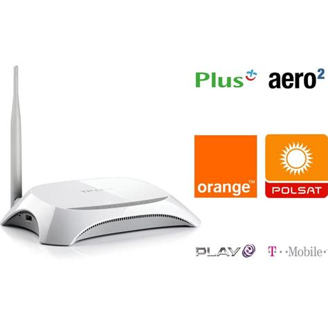 Router Tp Link Tl Mr3220 router tp link tl mr3220 3g 150mbps monitoring kamery