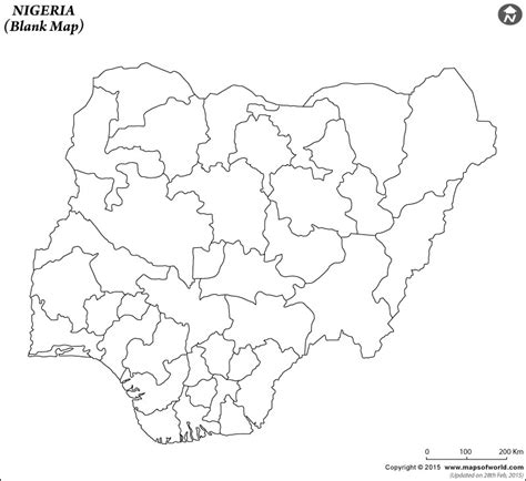 How To Draw The Map Of Nigeria