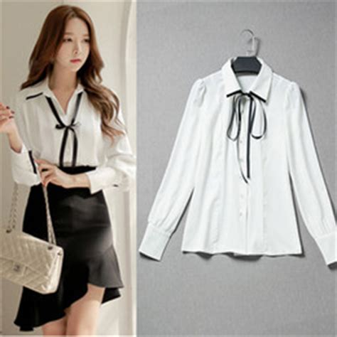 20577 Gray Pink Bow Sale Sleeved Top discount formal shirt for office 2017 formal shirt