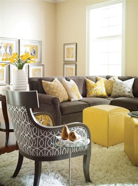 Yellow And Gray Chair Design Ideas Yellow Grey Living Room Ideas Peenmedia