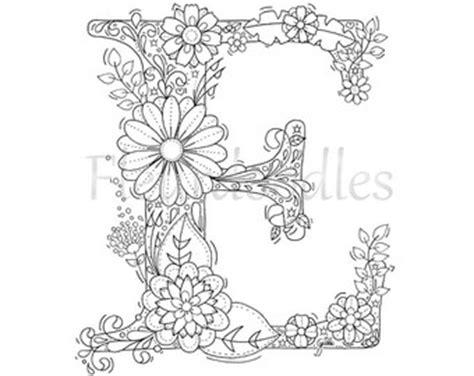 mandala coloring pages letters coloring page floral letters alphabet a por