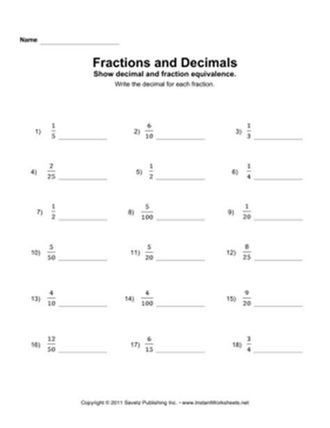Converting Fractions To Decimals Worksheet Pdf by Decimals To Fractions Worksheet Pdf Cpadevelopers