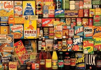 1950 s food grocery packaging from the 1950s blinds creatively different