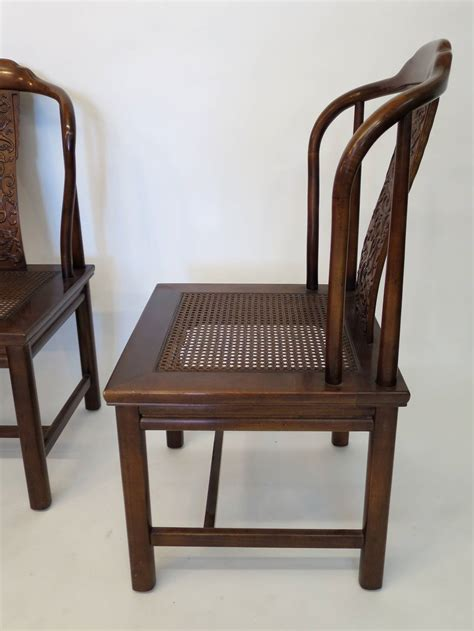 henredon dining room furniture set of four asian inspired chairs by henredon furniture at 1stdibs