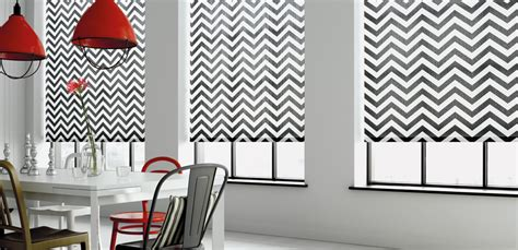 red and white striped l shade roller blinds contemporary roller blinds fire