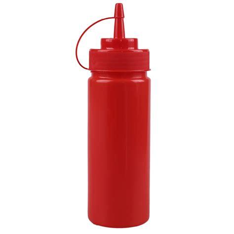 Sauce Bottle 12oz plastic squeeze sauce bottle dispenser cap condiment