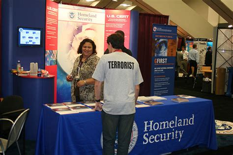 Home Land Security by Homeland Security Employment Booth Clumsy Crooks