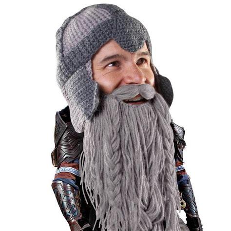 knit hat with beard beard warrior knit beard hat