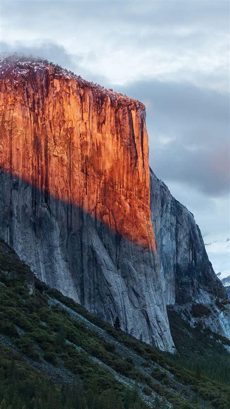 wallpaper el capitan mountain yosemite national park california  nature