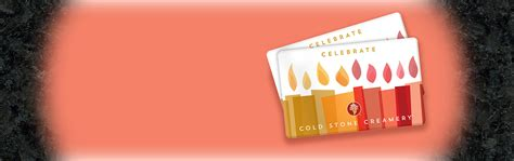 Coldstone Creamery Gift Card - birthday cakes cupcakes bakery cold stone ice cream