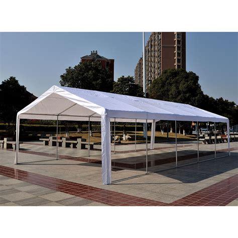 gazebo tent 32 x 16 heavy duty white tent canopy gazebo