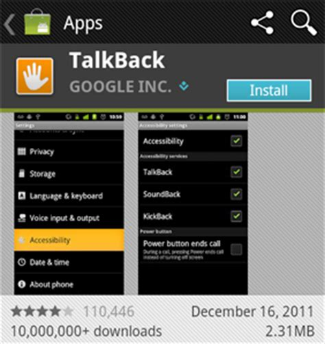 talkback android how to use android s accessibility service pc advisor