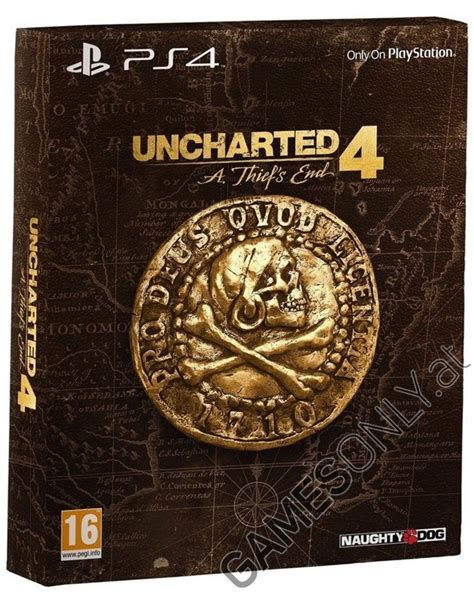 Unchartes 4 A Thiefs End Ps4 ps4 uncharted 4 a thiefs end special edition