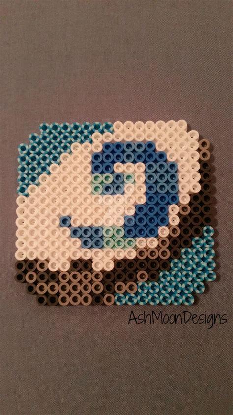 hearthstone perler bead coaster by ashmoondesigns on