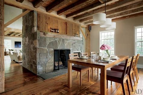 wood home interiors 15 rustic barn style homes photos architectural digest