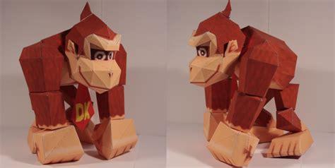 Kong Papercraft - kong papercraft by drummyralf on deviantart