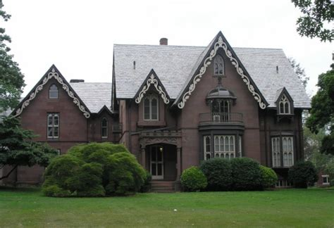 gothic revival homes derekmdesign gothic revival eye candy